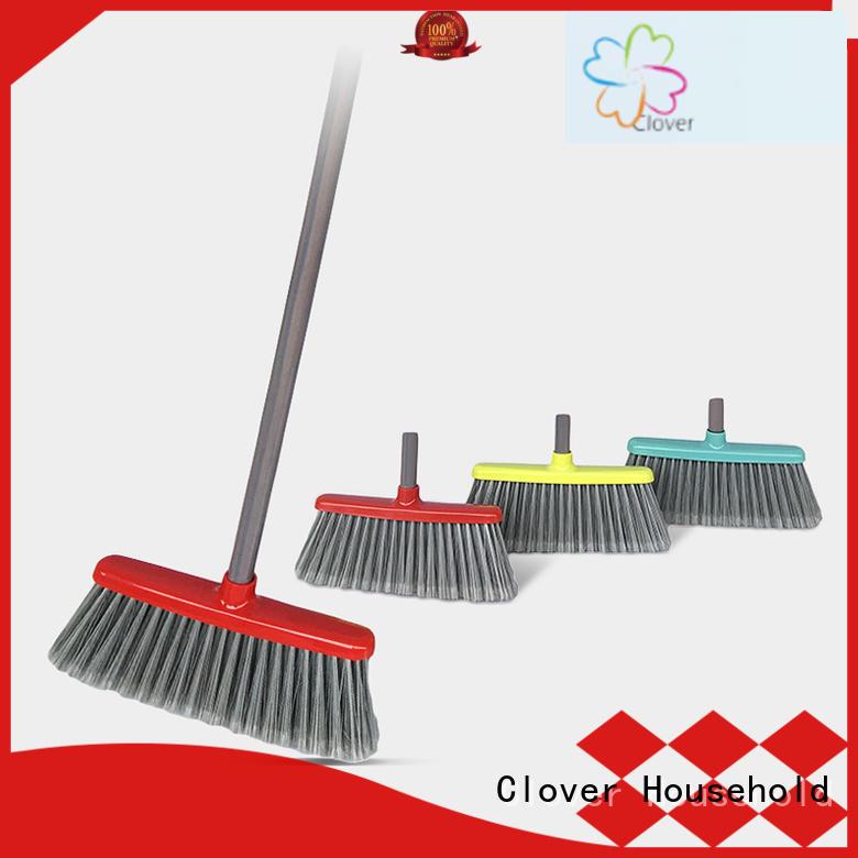 Clover Household head outdoor broom design for kitchen