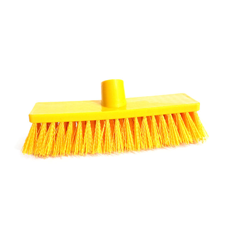PP Plastic Floor Cleaning Hard Bristle Sweep Brush