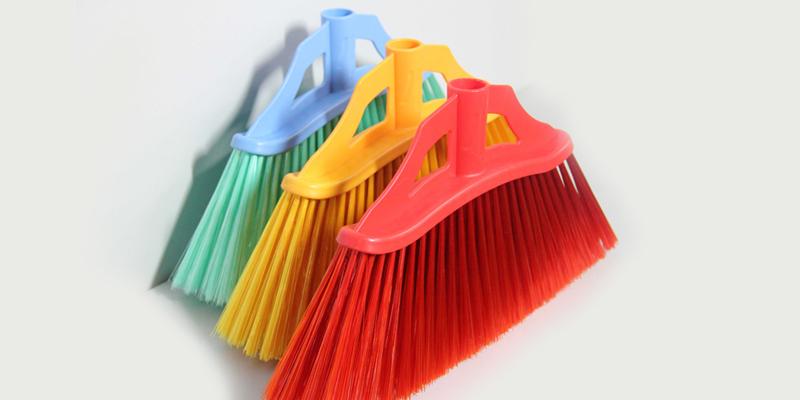 Clover Household hot selling floor scrub brush with long handle set for household-5