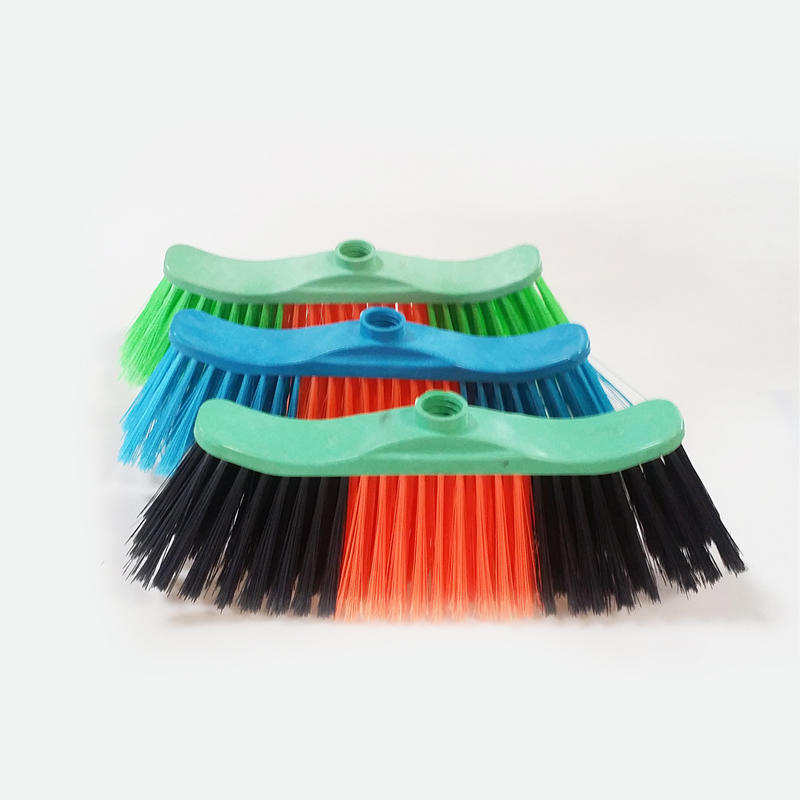 PP Head Plastic Indoor Sweeping Floor Brooms