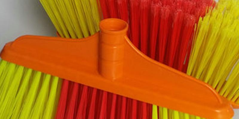 Clover Household quality stiff broom set for household-4