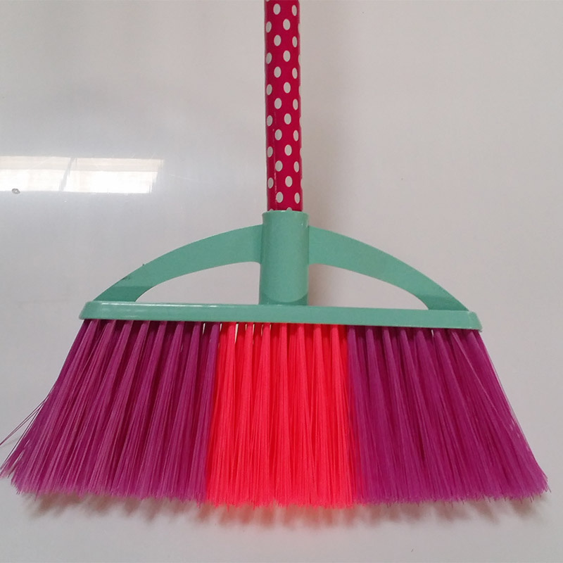 Clover Household sweeping soft bristle broom design for kitchen-5