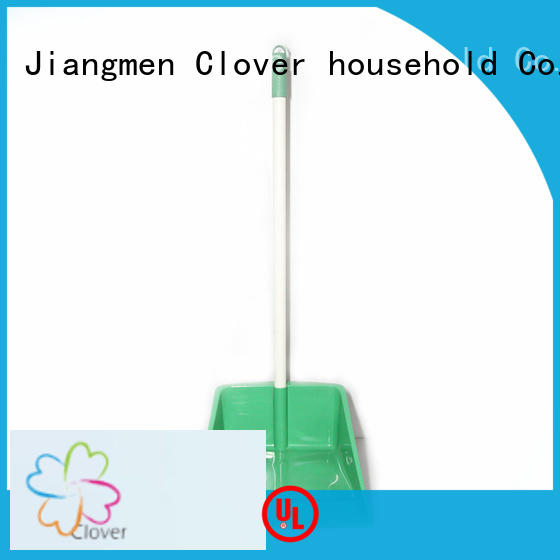 Clover Household long handled dustpan factory price for bathroom