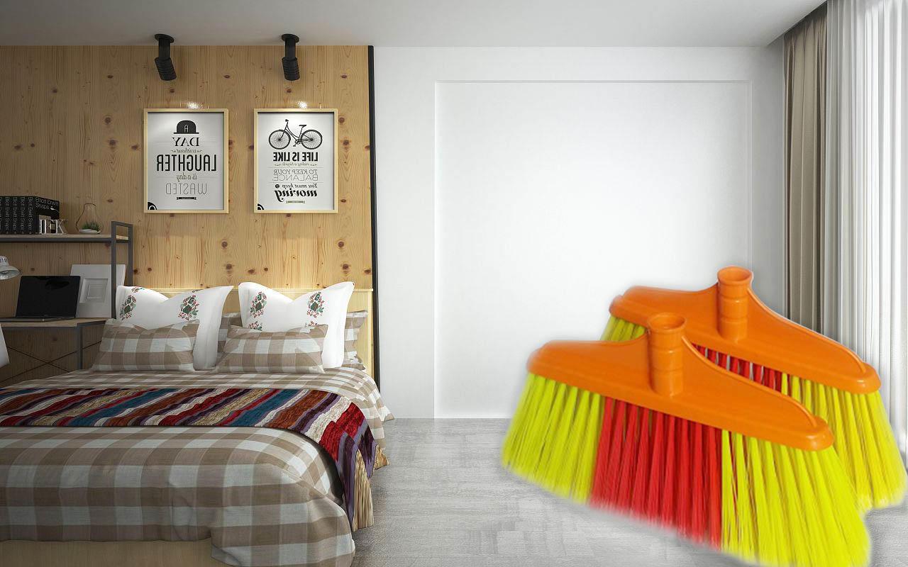 Clover Household quality stiff broom set for household-1