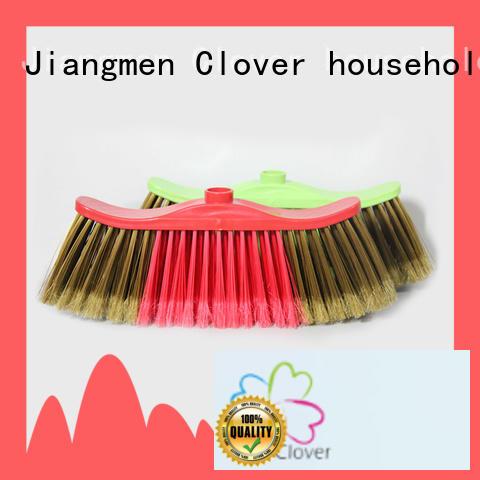Clover Household durable wide broom design for bedroom