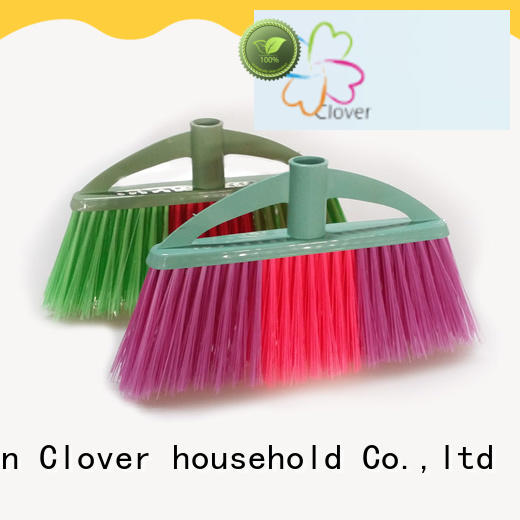 Clover Household american plastic broom factory price for bedroom