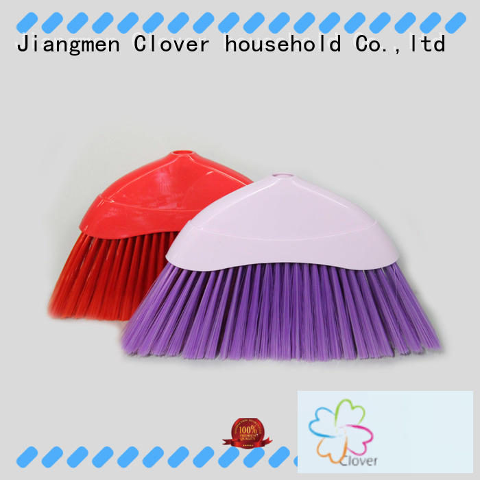 practical soft bristle broom sweeping factory price for bathroom