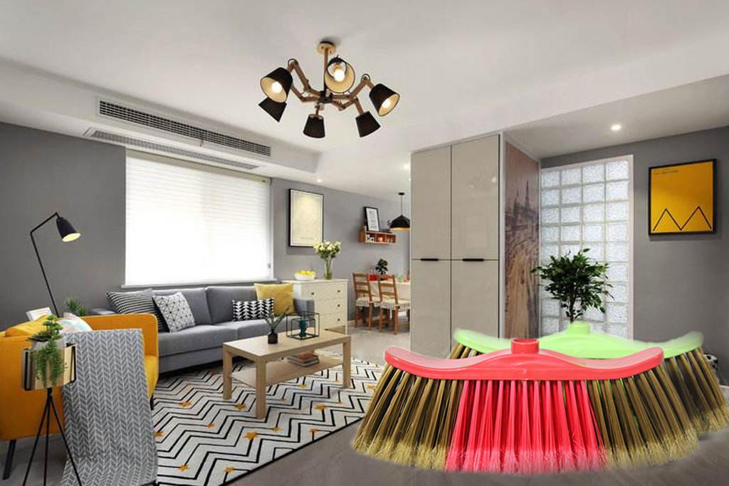 Clover Household durable wide broom design for bedroom-1