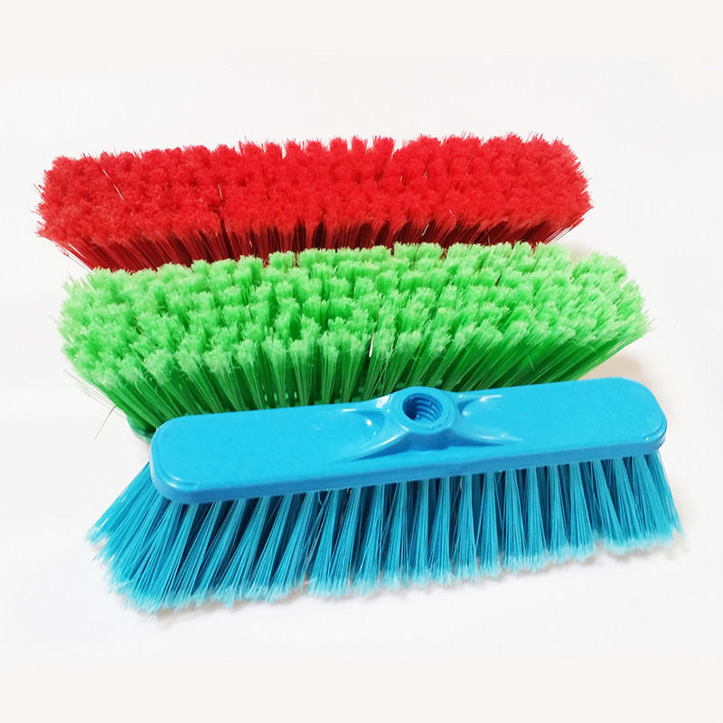 Wholesale hard brush broom mixed for business for bathroom-2