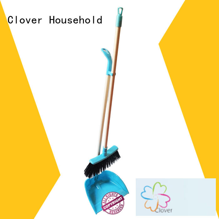 customized dustpan and brush set plastic factory for house