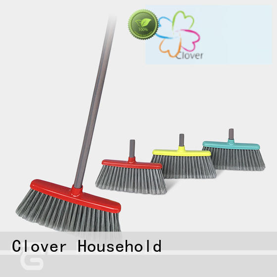 Clover Household durable scrub broom supplier for bathroom