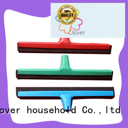 Clover Household long lasting rubber squeegee wiper for composite floor
