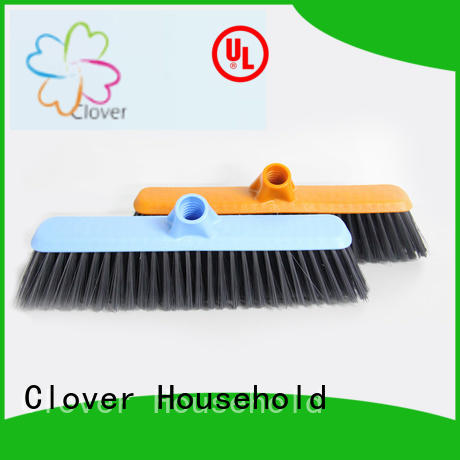 Clover Household quality plastic broom factory price for bedroom