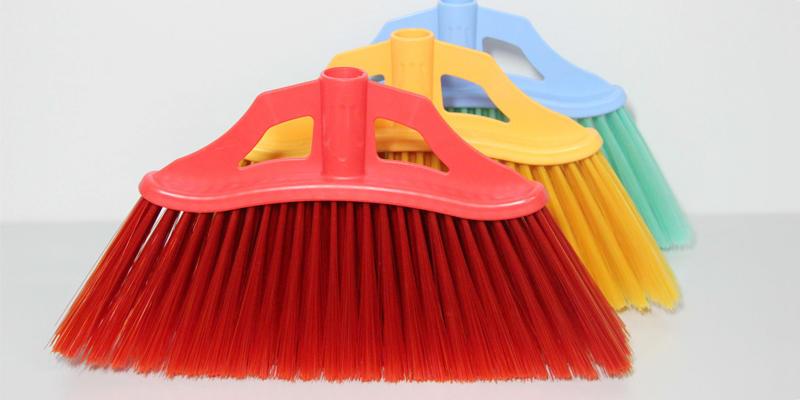 Clover Household hot selling floor scrub brush with long handle set for household-2