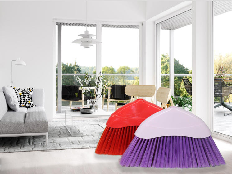practical soft bristle broom sweeping factory price for bathroom-1