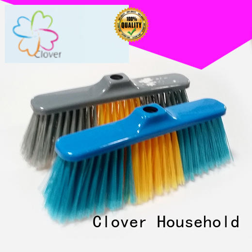 Clover Household durable wide broom set for bathroom