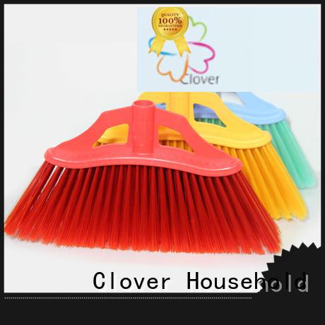 Clover Household hot selling soft bristle broom supplier for kitchen