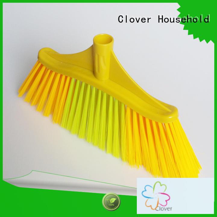 Clover Household hot selling soft bristle broom design for bedroom