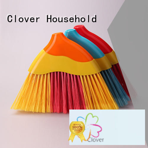 Clover Household Wholesale plastic bristle broom supplier for household