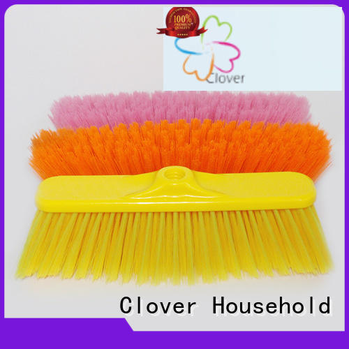 Clover Household hot selling outdoor broom supplier for bathroom