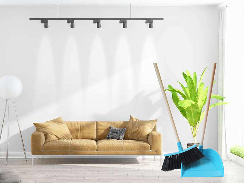 durable dustpan with handle produce online for bedroom-1