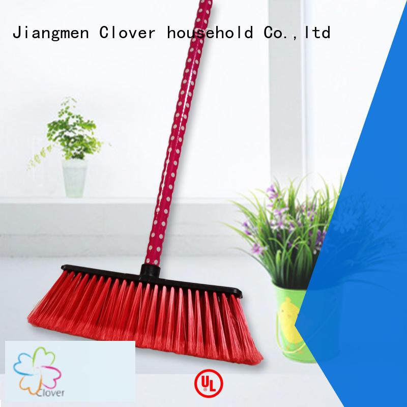 Clover Household indoor large floor brooms design for bedroom