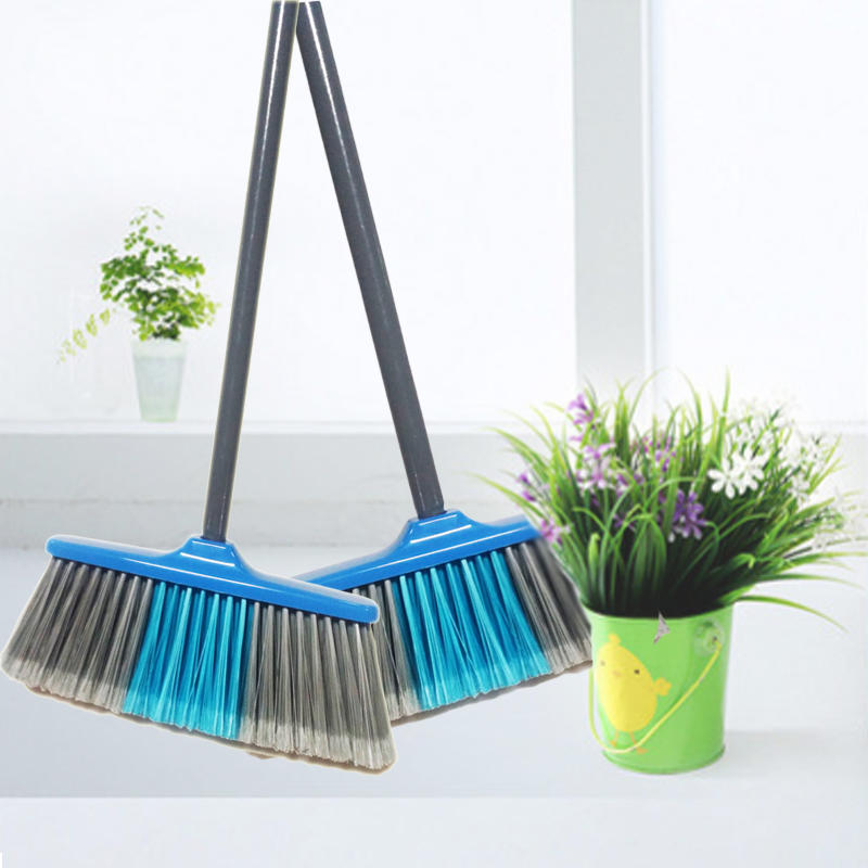 New Helen Broom With PVC Coated Wood Handle