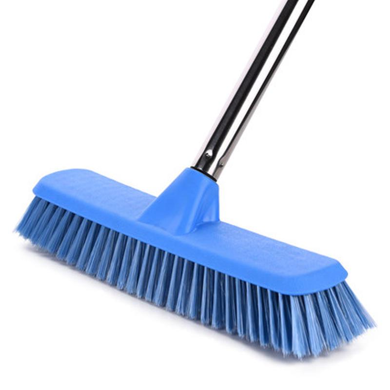Household Cleaning Floor Broom Brush With Metal Handle