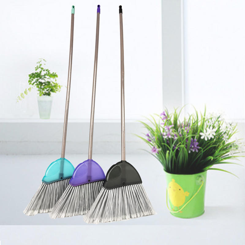 Large Frosted Transparent Angle Broom