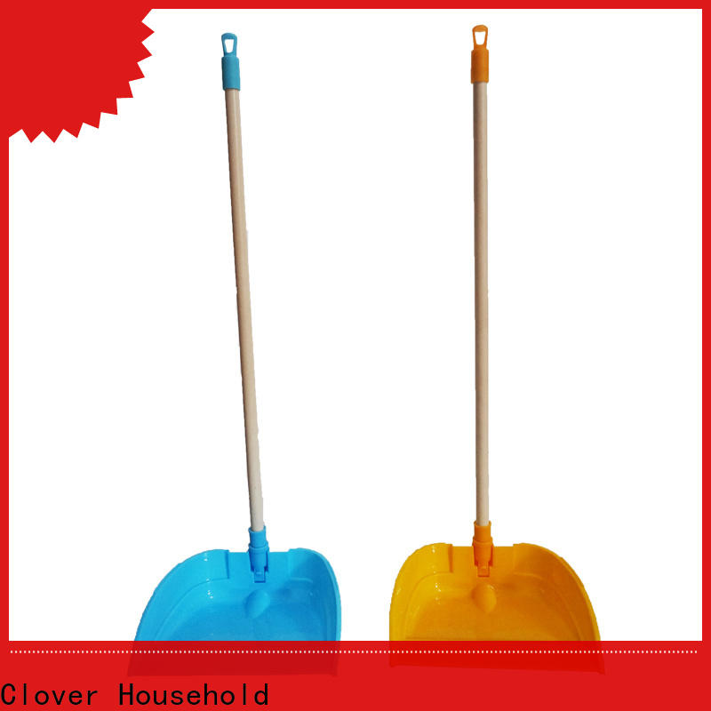 Clover Household broom dustpan and brush set factory price for kitchen
