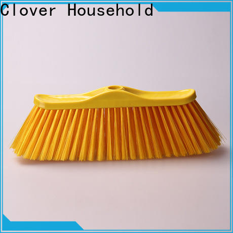 Clover Household quality hard broom with handle set for bathroom