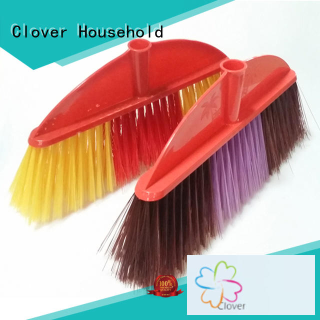 Clover Household hot selling long handle broom set for bathroom