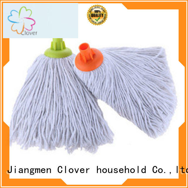 Clover Household cotton floor cleaning mop factory for kitchen