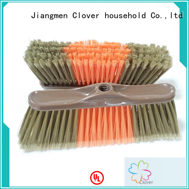 durable plastic broom wood set for household