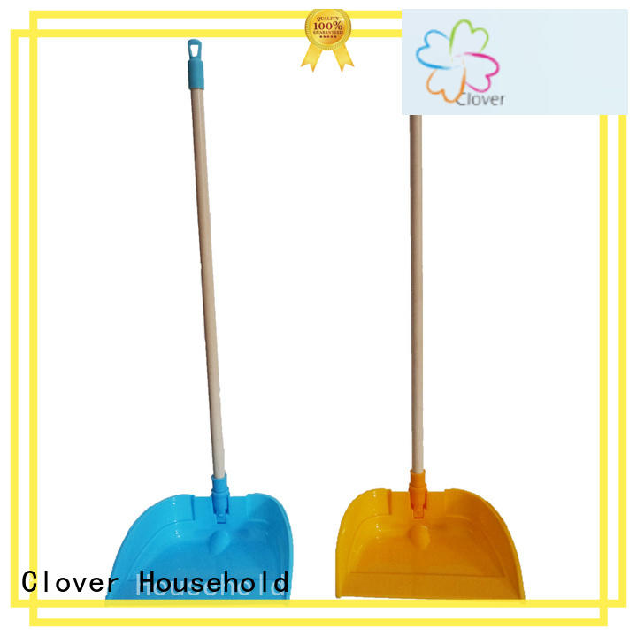 Clover Household Wholesale upright broom and dustpan set for business for bathroom