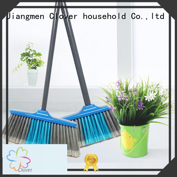 Clover Household Wholesale floor cleaning brush with long handle factory price for kitchen
