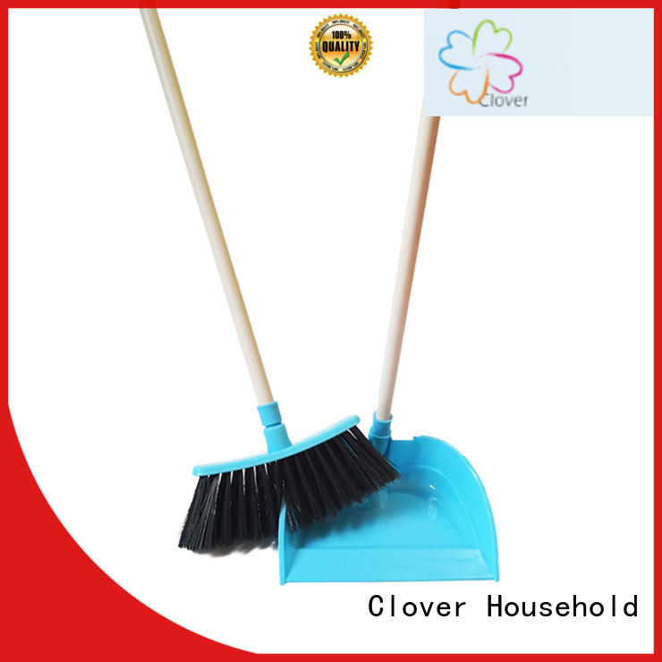 Clover Household long dustpan with handle factory price for living room