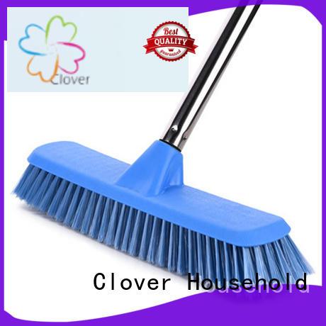 Clover Household Wholesale hard brush broom Suppliers for bathroom