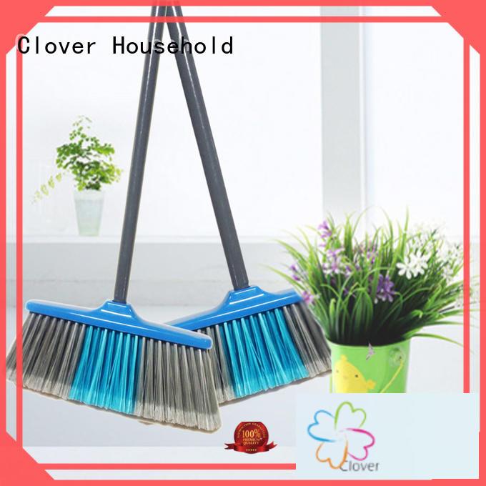 quality soft bristle broom wood set for bedroom