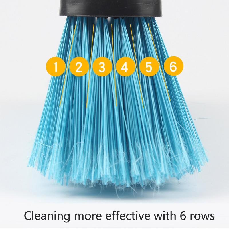 Clover Household economic plastic broom set for household-2