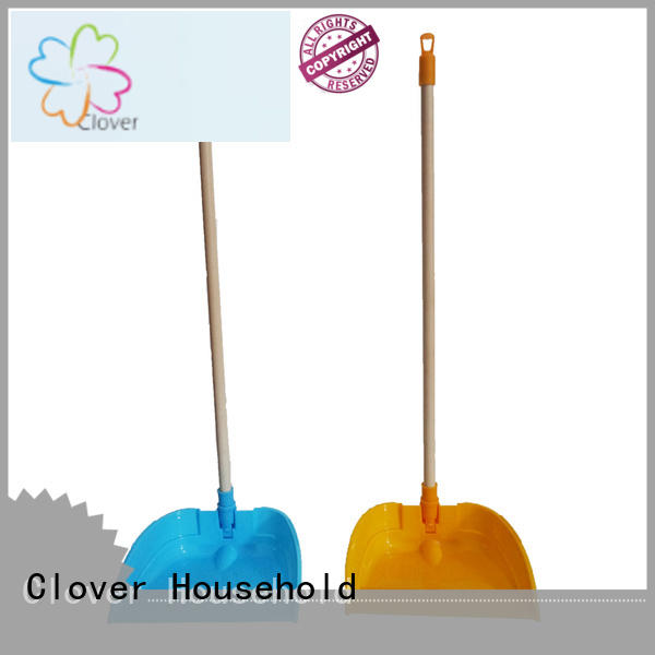 dustpan with handle plastic wholesale for household